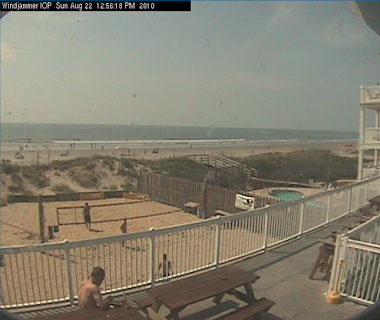 SC:  Isle of Palms, Windjammer, Deck cam