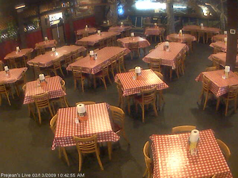 Webcam site: Prejean's Restaurant, Lafayette, LA