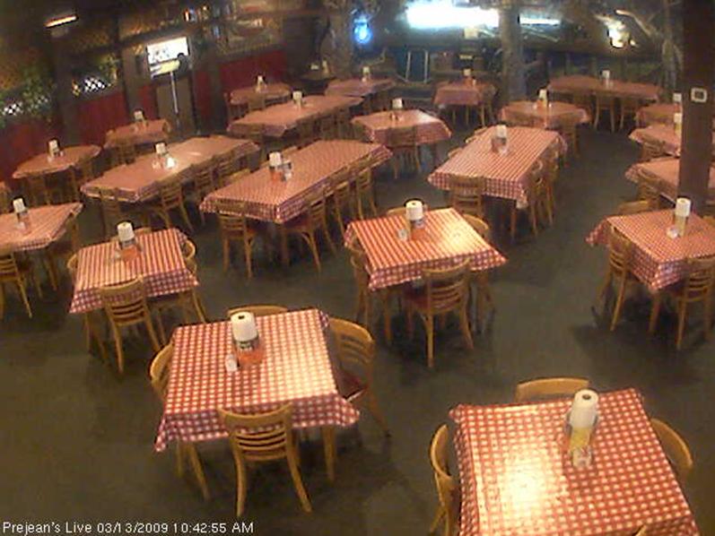 Webcam site: Prejean's Restaurant, Lafayette, LA