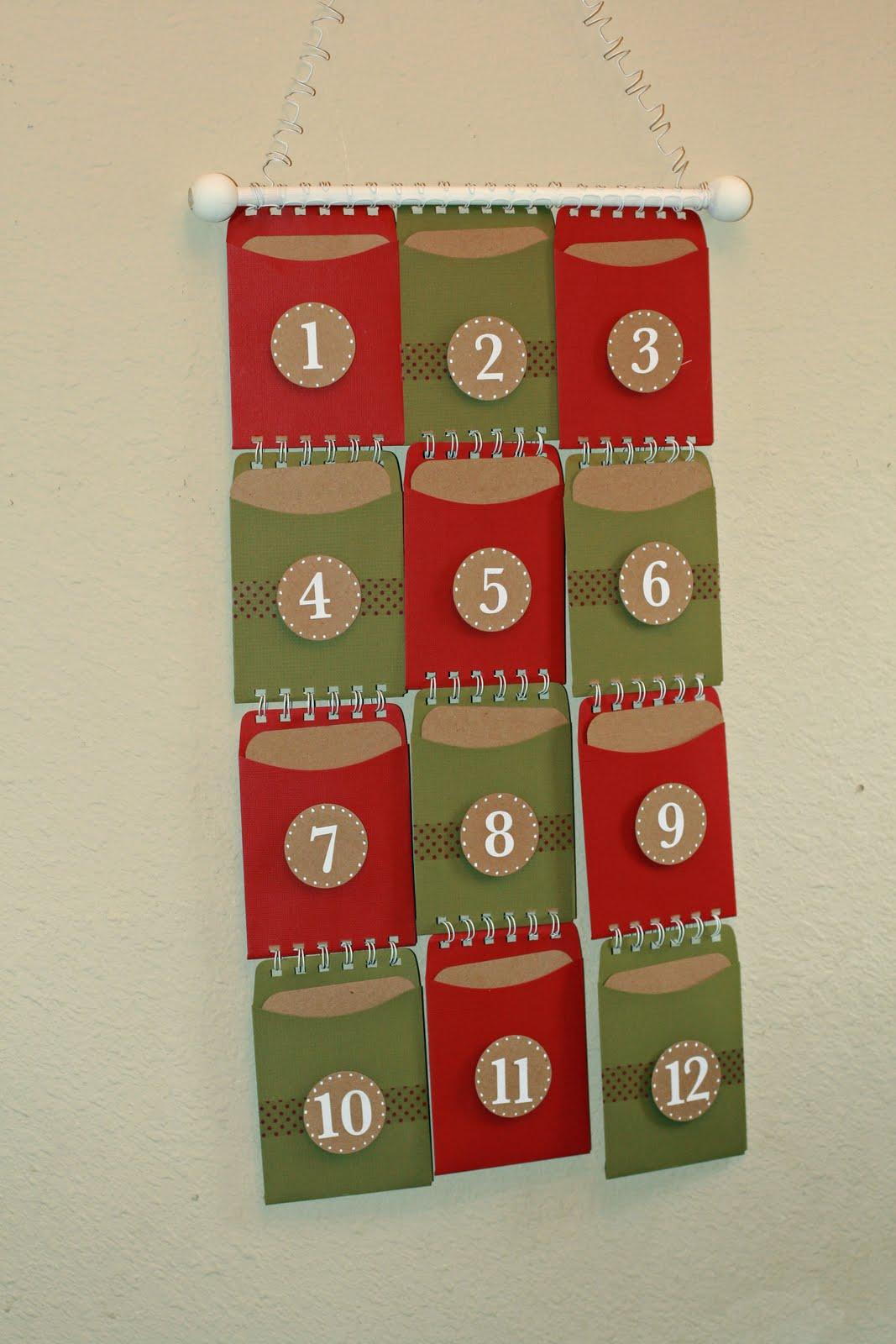 Bind-It-All: Twelve days of Christmas Calendar....Owire Style!