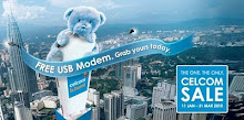 Celcom Broadband Free USB Modem - 2010 Promo