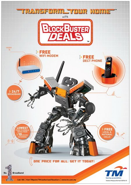 STREAMYX BLOCKBUSTER DEALS(1 March 2010~)