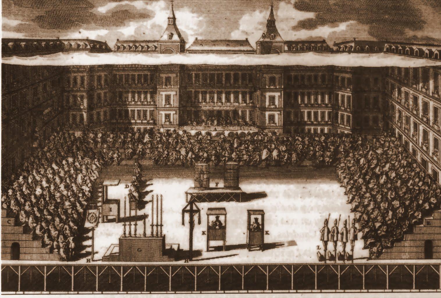 Resultado de imagem para inquisição em Madrid séc. XVII