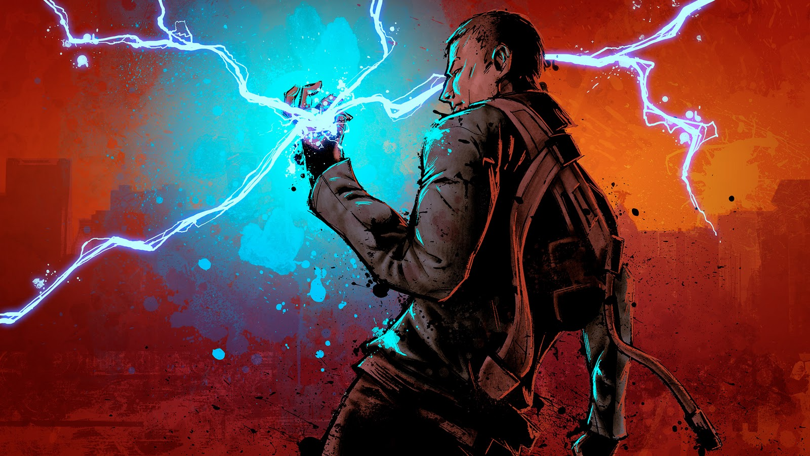 inFamous 2, Artwork, PS3