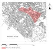η ανω πολη στο χαρτη  θεσσαλονικης