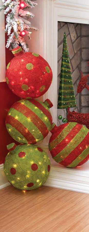 Shelley b decor and more raz 2010 christmas unwrapped Large outdoor christmas decorations to make