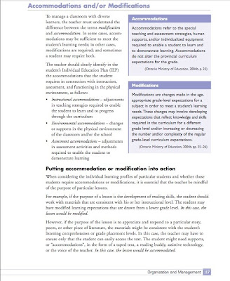The Difference Between Accommodations And Modifications >> Special Education Accommodations Vs Modifications