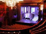 Vista de un teatro