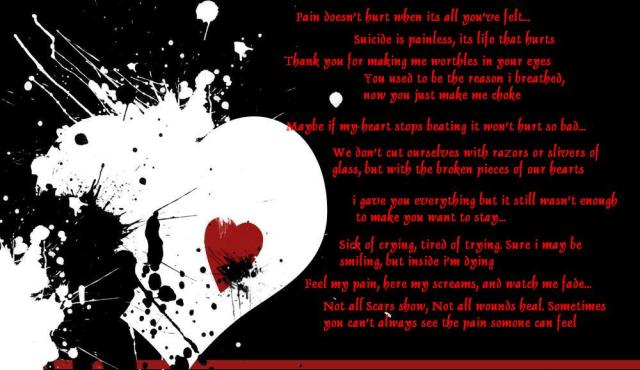 quotes for emo. emo quotes and pics