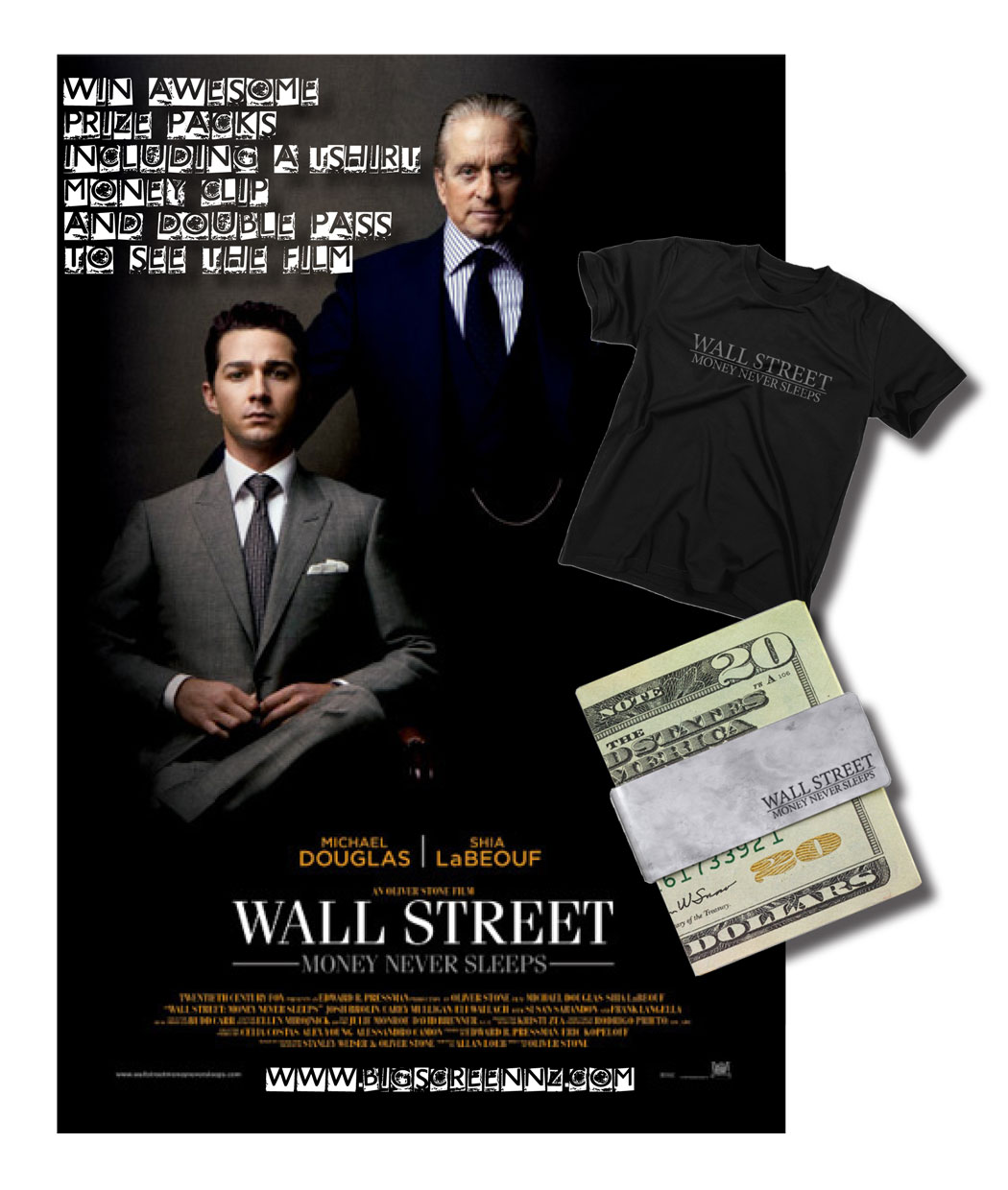 And is a suited-up shia labeouf enough to carry a sequel to the original wall street?