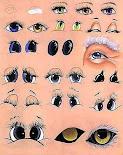 Plantilla para pintar ojos