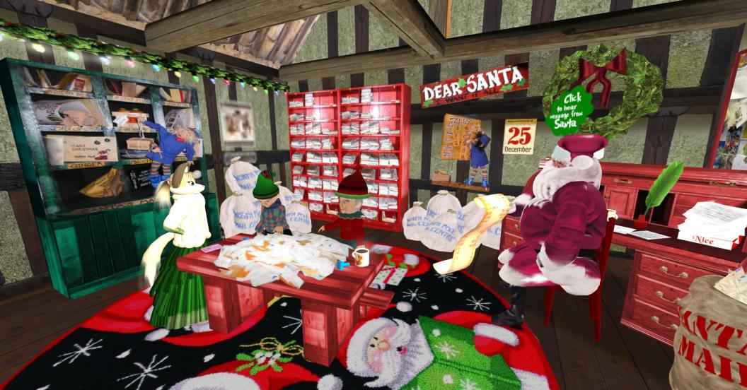Sl Newser Places North Pole And Santa S Workshop