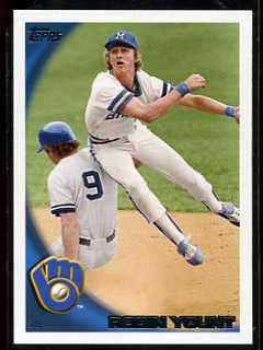 2010 Topps Robin Yount Variation Card