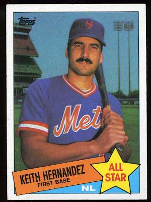 1985 Topps Keith Hernandez All Star