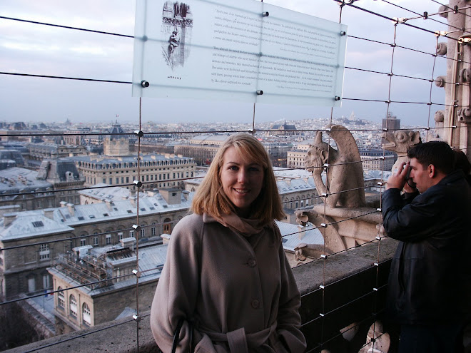 Top of the Quasimoto Tower at Notre Dame Cathedrial