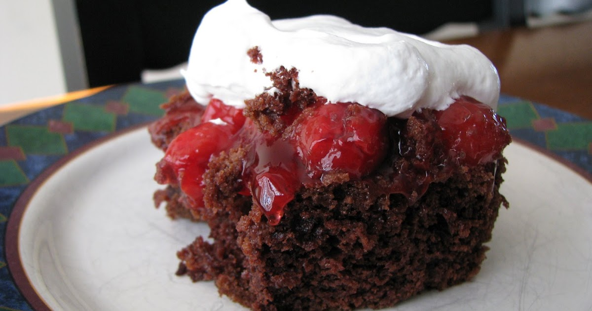 Carrie's Cooking and Recipes: Easy Black Forest Cake