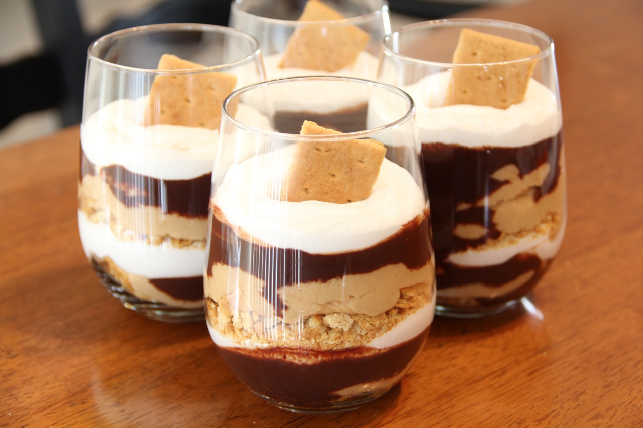 Carrie's Cooking and Recipes: Chocolate Peanut Butter Parfait