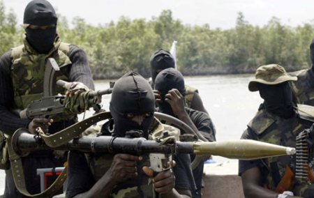 kidnapping crime and niger delta militants Militants wearing black masks, military fatigues and carrying kalashnikov assault rifles and rocket-propelled grenade launchers patrol the creeks of the niger delta area of nigeria, in this friday.