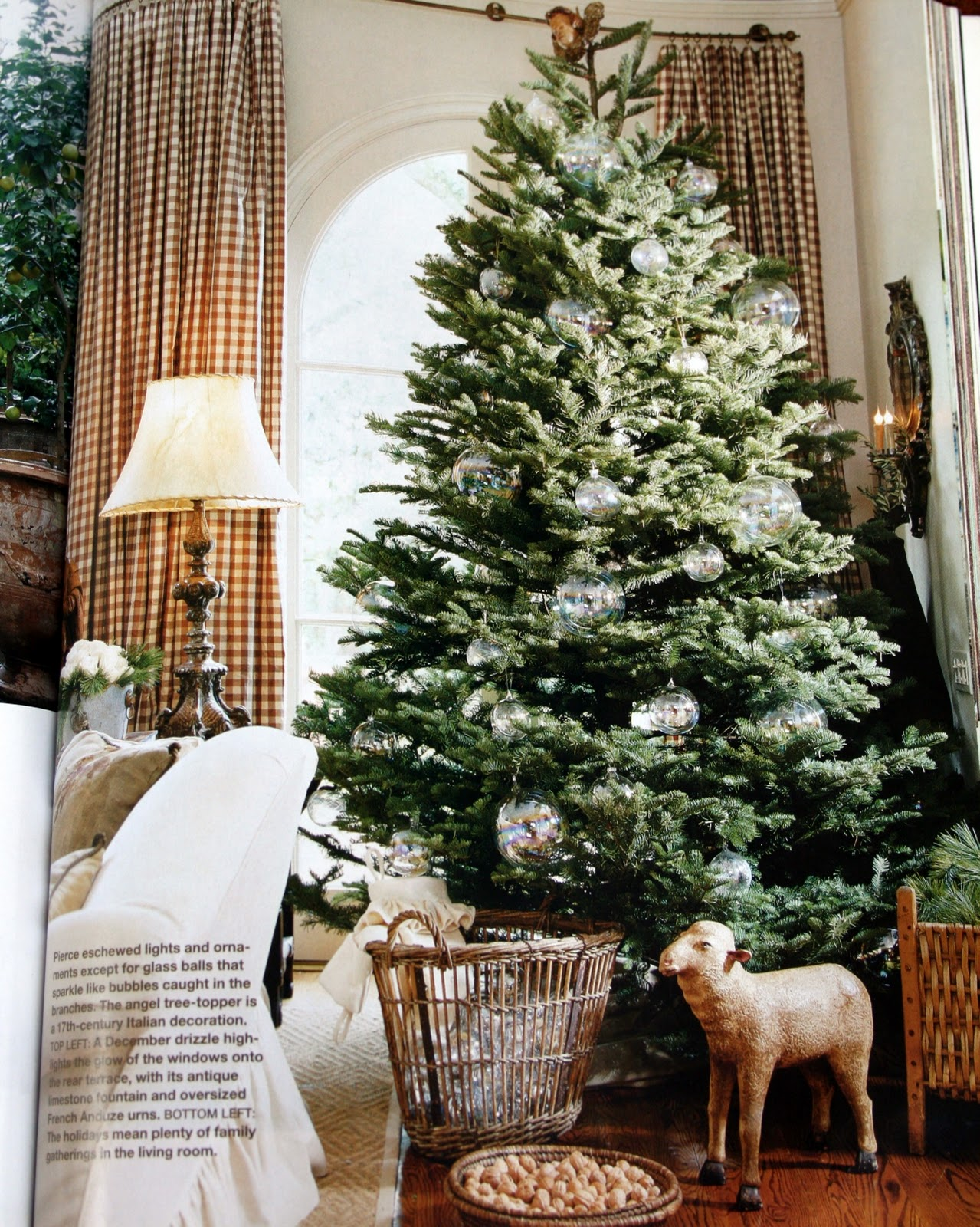 Antiqueaholics christmas decorating with pamela pierce Natural decorating