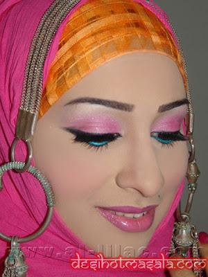 How To Live Like An Omani Princess More Omani Make-up And Hijab Wrap Styles With Trad. Jewlery ...