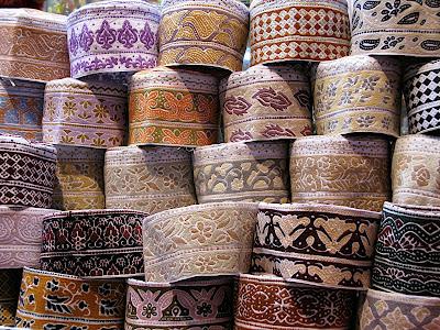 Omani Kumas---how they are made