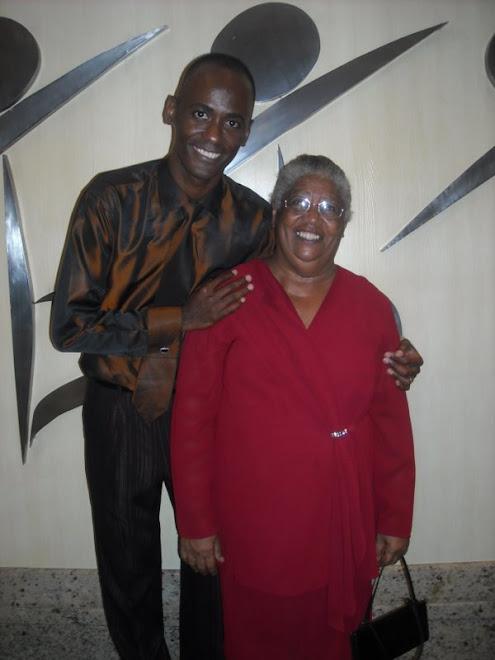 Eu e minha Mãe(a matriarca)Maria José