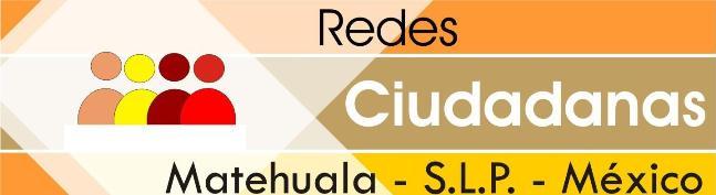 Redes Ciudadanas de Matehuala