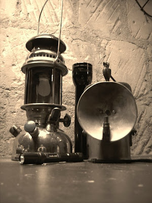 BERGLOPEN : cultuur en geschiedenis ondergronds!: Verlichting