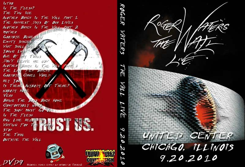DVD Concert TH Power By Deer 5001: Roger Waters - The Wall - Live in ...