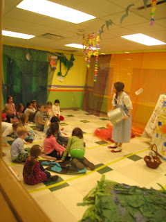 Dorothy in the Kinnelon storytime room