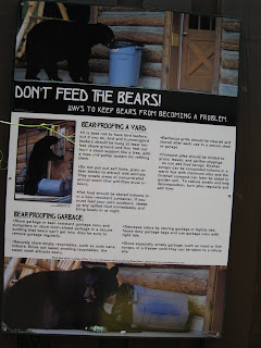 Don't feed NJ Black Bears