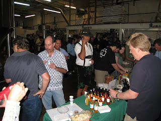 Ted's Fresh Hot Sauce at Ramstein Beer Open House