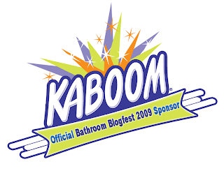 Kaboom - Bathroom Blogfest 09 sponsor