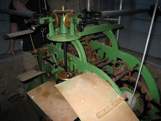 St. Hubert's Chapel Clock mechanism