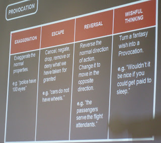 Four categories of Provocation