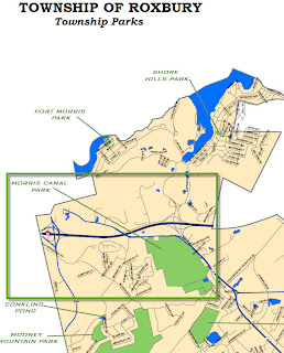 MCPC September 18 Hike: Roxbury Township's Ledgewood Pond