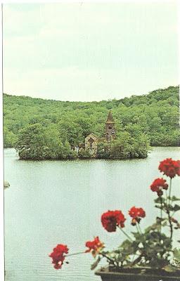Smoke Rise Postcard: St. Hubert's Chapel