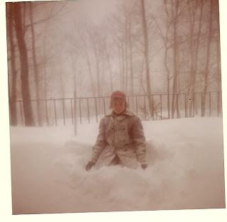 Herb Fisher Jr., Smoke Rise Snow, March 1960