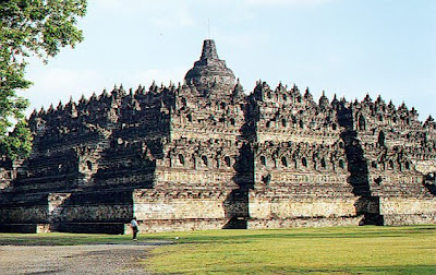 Borobudur Temple Tourist Attractions in Indonesia
