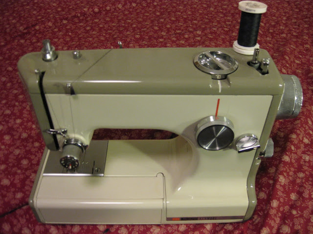vintage sears travel sewing machine