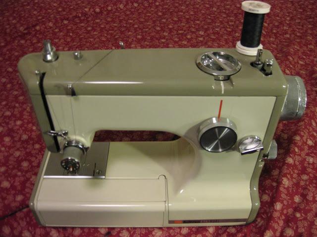 vintage sears travel sewing machine