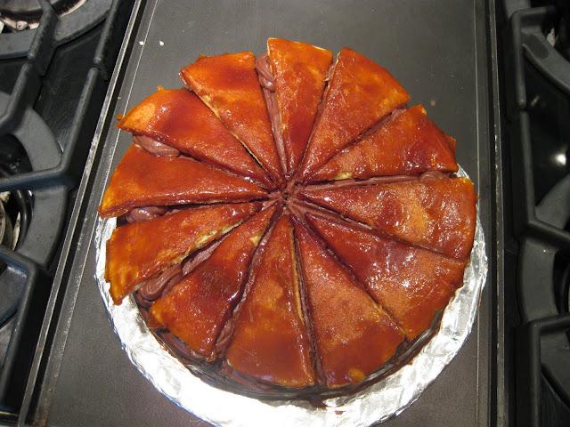 dobos torte, a hungarian cake