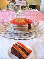 fire cake