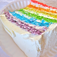 Earth Cake, Fire Cake, Rainbow Cake! Oh My!