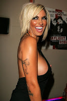 TV Star Jodie Marsh at The Premiere