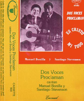 Musica cristiana para escuchar manuel bonilla y santiago stevenson dos veces - Canciones cristianas infantiles manuel bonilla ...
