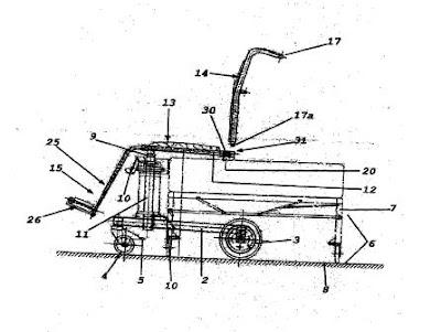 Invento: Silla de ruedas transformable en camilla