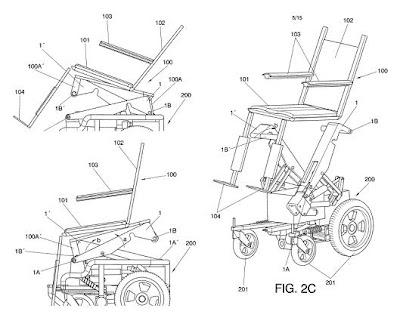 Invento nuevo: silla de ruedas regulable en altura e inclinación