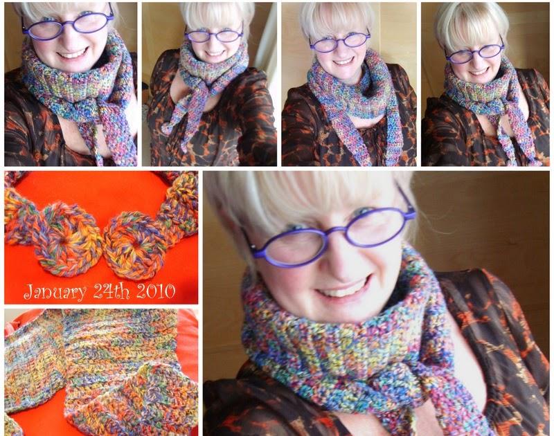 Susan Pinner Crochet Baktus Scarf Mark 3