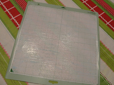 Imperfectly Beautiful Make Your Cricut Cutting Mat Sticky